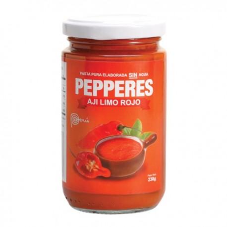 Piment Limo rouge frais en Purée (Ají Limo Rojo) Pepperes / Cuisine péruvienne / Pérou