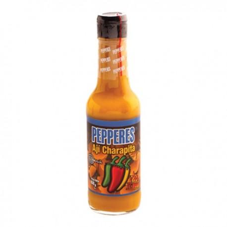 Sauce picante péruvienne liquide au Piment (Ají) Charapita Pepperes / Assaisonnement / Amazonie / Pérou