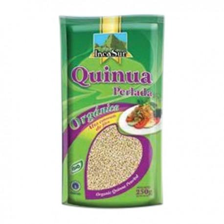 Quinoa péruvienne blanche Perlée certifiée Biologique IncaSur / Céréales du Pérou