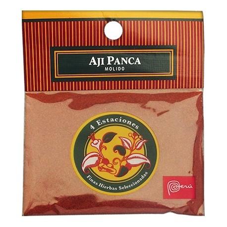 Piment péruvien Panca en Poudre (Ají Panca / Colorado) 4 Estaciones / Epice péruvienne / Pérou