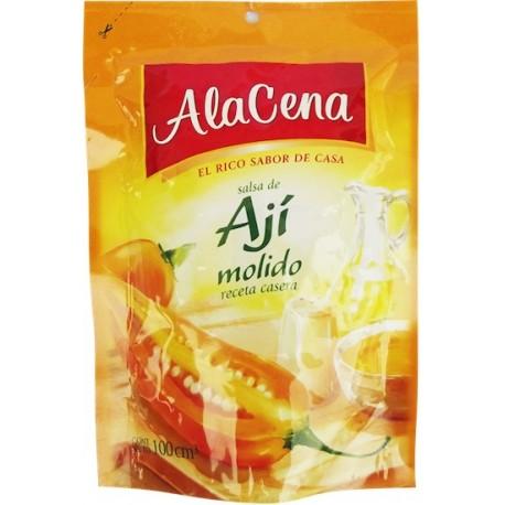 Sauce au Piment jaune du Pérou (Ají Amarillo) prête à servir AlaCena / Saveur du Pérou