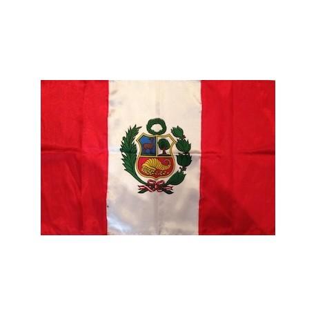 Drapeau du Pérou 40x75 cm
