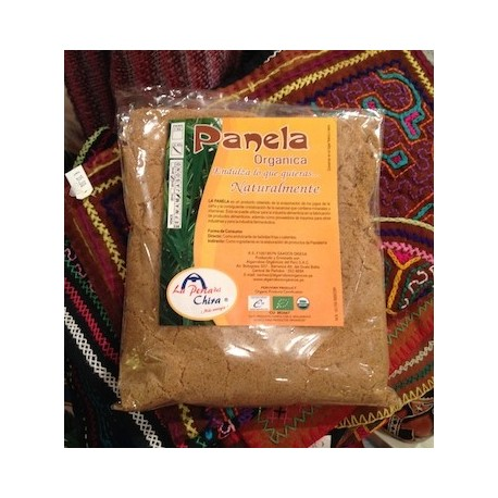 Canne à sucre non raffiné (Panela) certifié Biologique 100% pur La Perla del Chira / Pérou