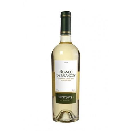 Vin blanc péruvien Blanco de Blancos Cépages Chardonnay, Chenin Blanc et Sauvignon Blanc Tabernero 2013 12,5° / Pérou